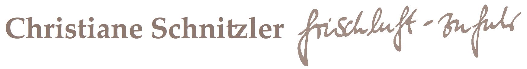 Christiane Schnitzler . frischluft-zufuhr